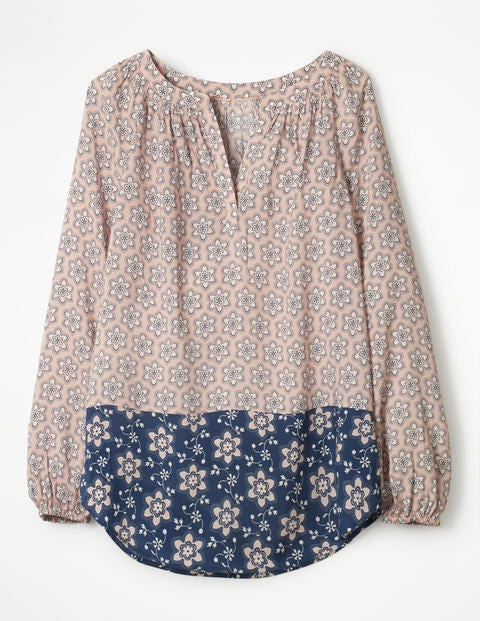 94451bf2a765f Maya Top - Pink Frosting, Dotty Floral | Boden US