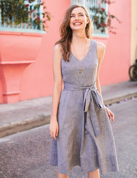 Jade Dress - Chambray