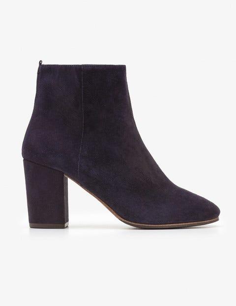 Etta Ankle Boots - Navy