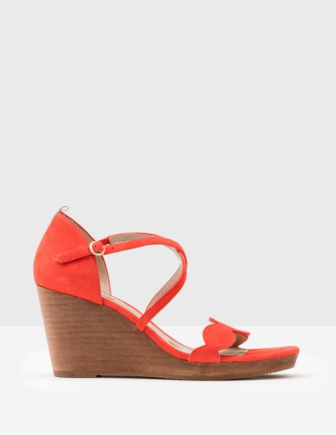 Bethany Wedges - Rosehip