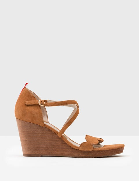 Bethany Wedges - Tan