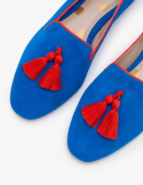 Boden Rowan Slipper Blue Damen Boden blau,rot |