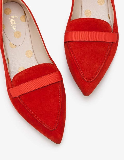 Abbie Loafers Red Women Boden, Red