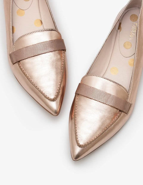 Abbie Loafers Metallic Women Boden, Metallic