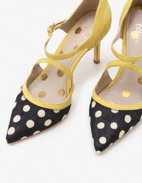 Tisha Heels - Mimosa Yellow