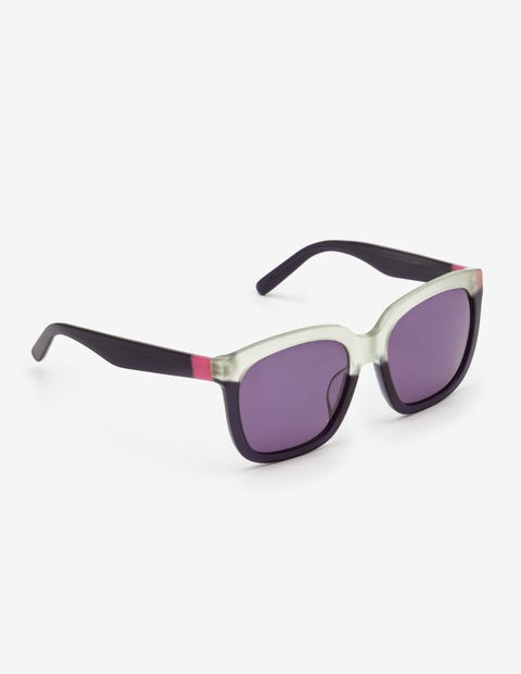 Tanya Sunglasses - Mint Green/Navy