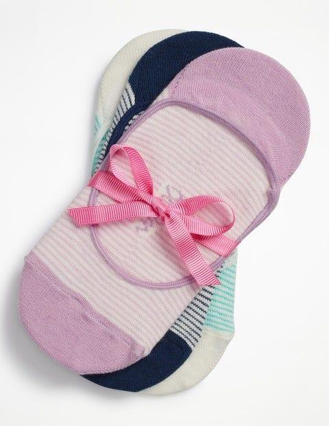 Three Pack Secret Socks - Stripe