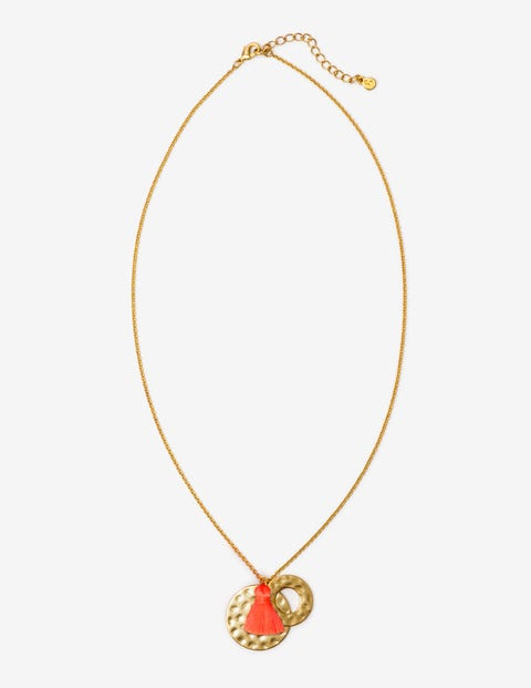 Marianna Necklace - Watermelon Punch