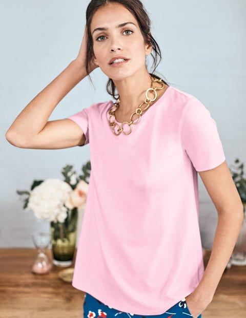 Supersoft Easy Tee - Soft Peony