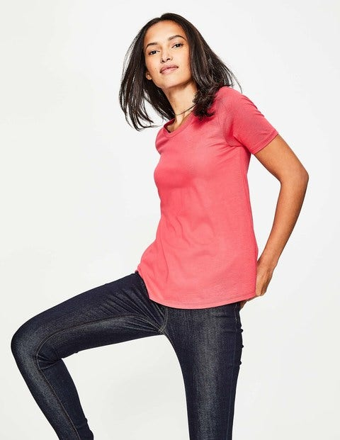 Supersoft Easy Tee - Hibiscus