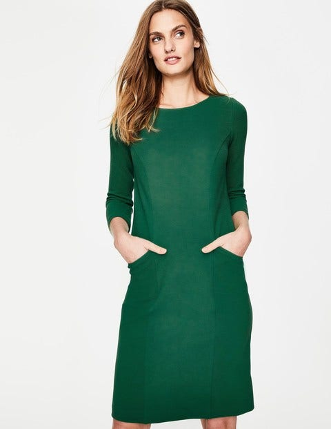 Product photo of Trinity jersey dress green women boden green