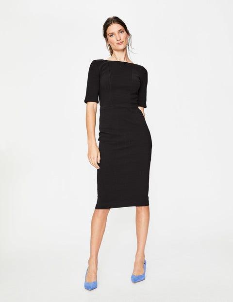 Kaia Ottoman Dress - Black