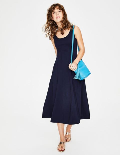 Callie Ponte Dress - Navy