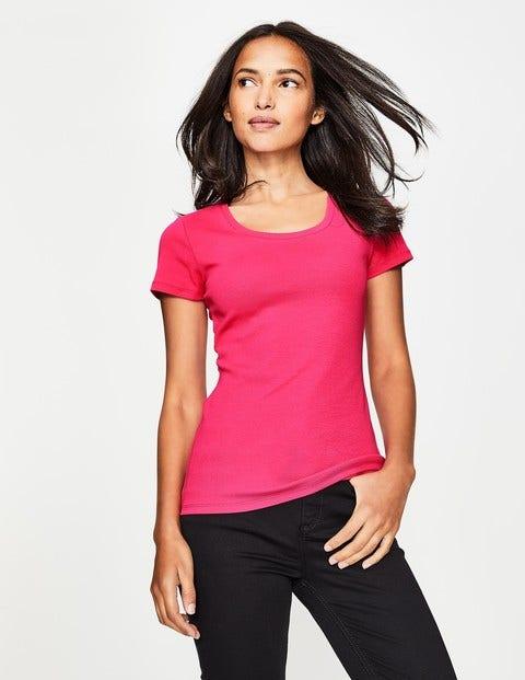 Essential Short Sleeve Tee - Carnival Pink