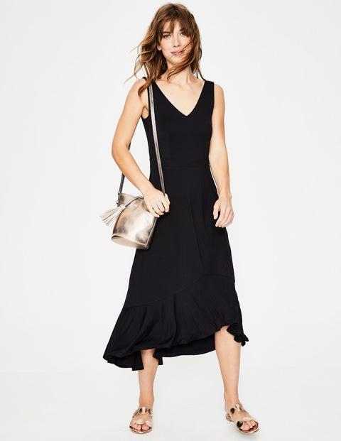 Elisa Jersey Dress - Black