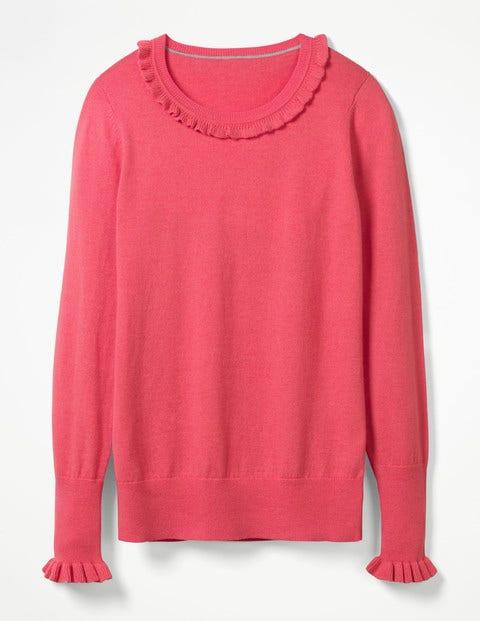 Bernadette Sweater - Coral Sunset