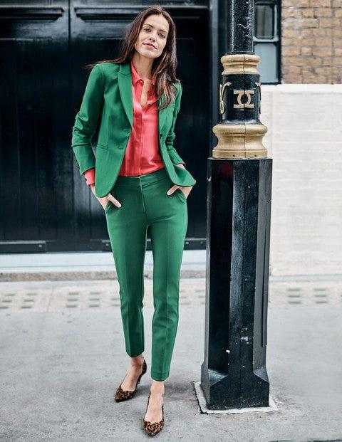 Elizabeth Ponte Blazer - Sap Green