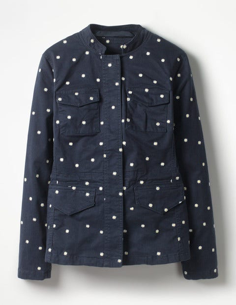 Carly Embroidered Jacket T0092 Jackets At Boden