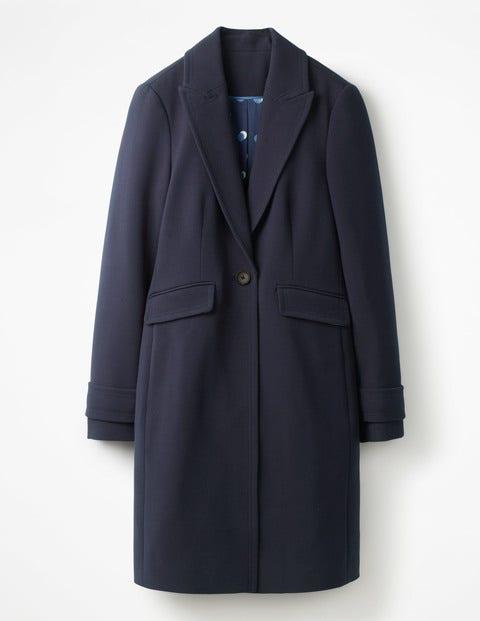 Aileen Coat - Navy