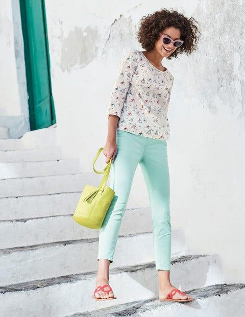Cropped Soho Skinny Jeans - Ripple