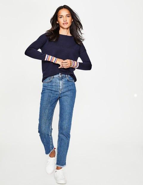 Cambridge 7/8-Jeans - Fransensaum