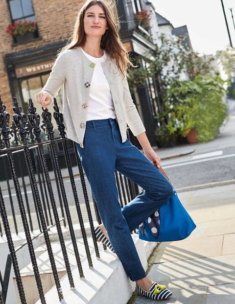 Wellington Jeans T0128 Straight Leg Jeans At Boden