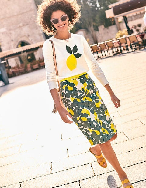 Modern Pencil Skirt T0135 Knee Length Skirts At Boden
