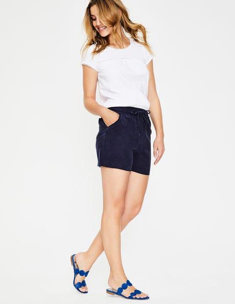 Talia Shorts - Navy