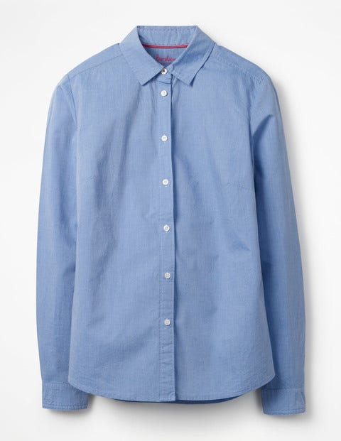 Product photo of The classic shirt blue women boden blue