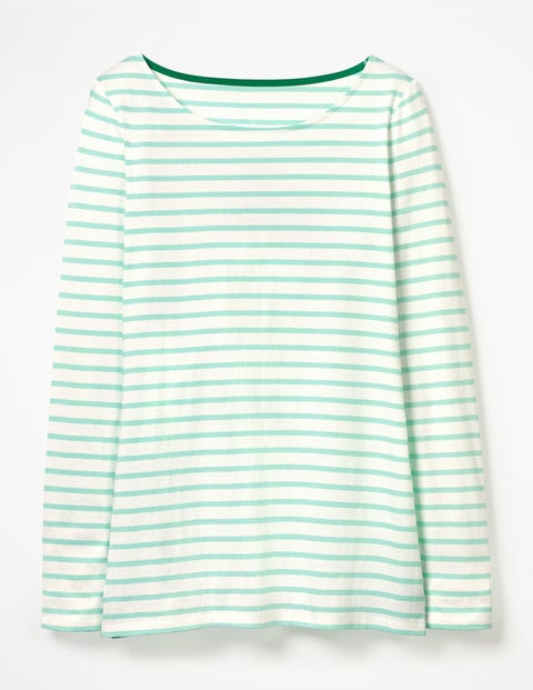 Long Sleeve Breton - Ivory/Ripple