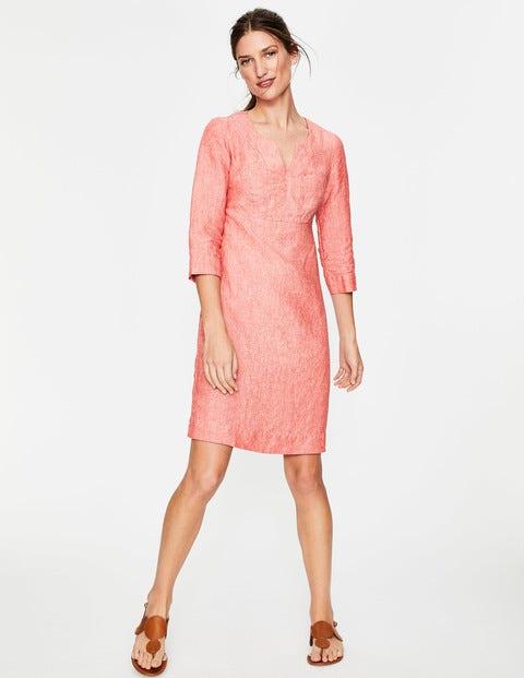 Casual Linen Tunic - Rosehip