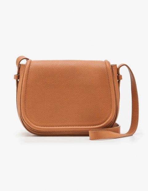 Tabitha Saddle Bag - Tan
