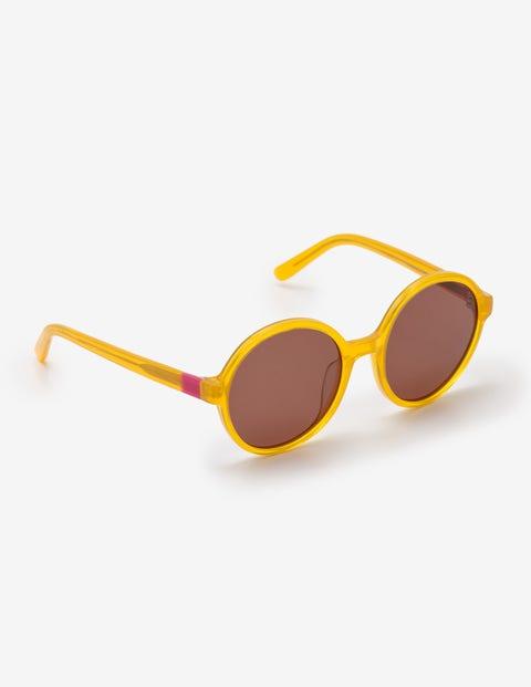 Retro Sunglasses | Vintage Glasses | New Vintage Eyeglasses Althea Sunglasses Yellow Women Boden Yellow £49.00 AT vintagedancer.com