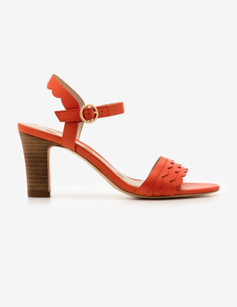Chaussures À Talon Ruth - Orange Sanguine