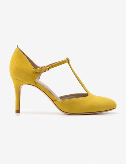 Whitney Mid Heels - Mimosa Yellow