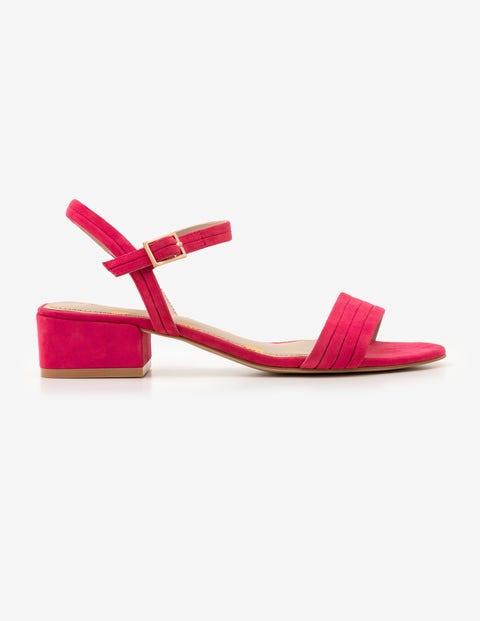 Zoe Heeled Sandals - Carnival Pink