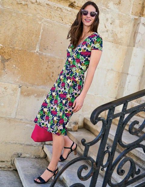 Summer Wrap Dress - Multi Bouquet