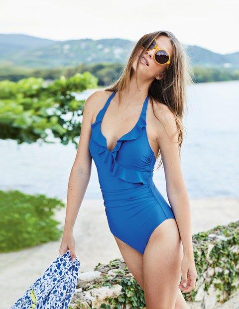 Trapani Swimsuit - Cornflower Blue