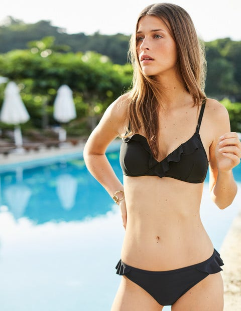 Trapani Bikini Bottoms - Black