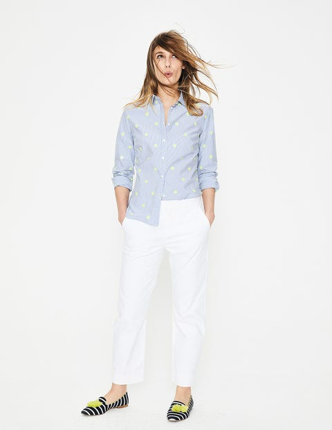 Wellington Jeans White Women Boden