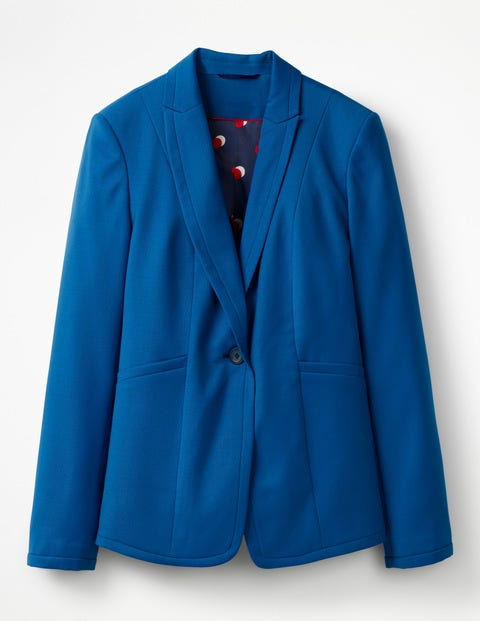 Boden Claremont Blazer Blue Damen Boden, Blue blau |