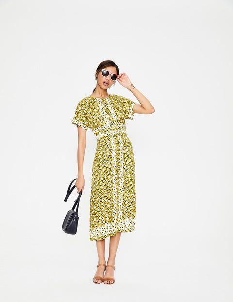 Esmeralda MimosengelbUnregelmäßige Kleid Kleid Esmeralda Tupfen oWerdBCx