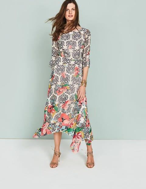 Beatrix Dress - Multi Wild Bloom Flourish