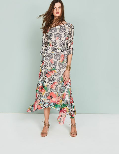 Beatrix Dress Multi Women Boden, Multi