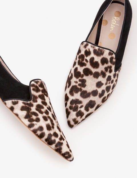 Rosie Slippers - Snow Leopard
