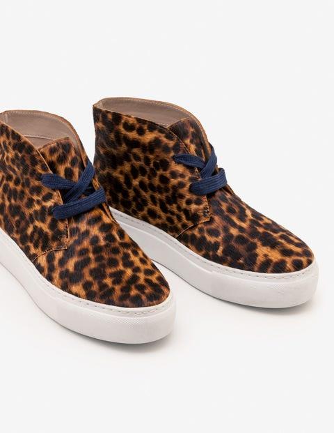 Platform Trainers - Tan Leopard