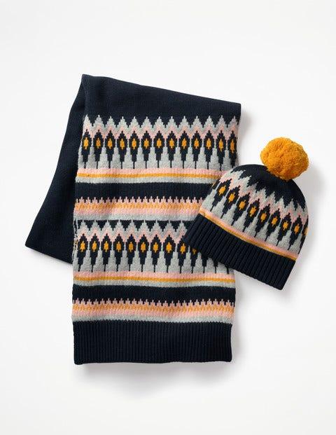 Fair-Isle-Mütze A0296 Mützen, Schals & Handschuhe bei Boden