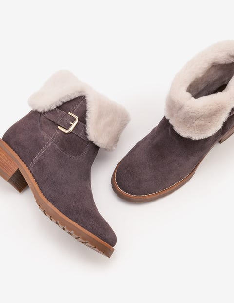 Cumbria Shearling Boots - Pewter