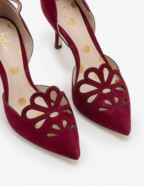Eloise Mid Heels - Mulled Wine