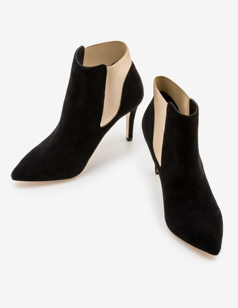 Astell Heeled Boots - Black